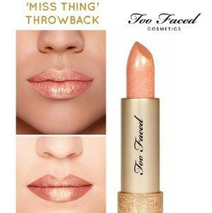 💄Too Faced Throwback lipstick 'Miss Thing' NIB